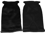 Plain Knit Pet Sweater MD Black